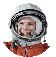in <span>1961</span>, with the help of the Voronezh engine, the first launch of the first cosmonaut of the planet, <span>Yuri Gagarin</span>, was carried out for the first time in the world